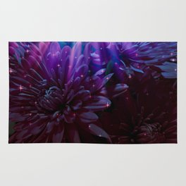 Twilight Floral Abstract Rug