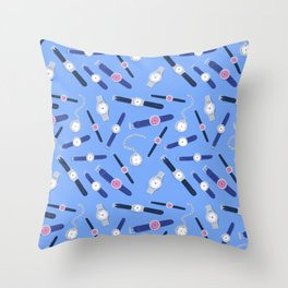 Who's Got The Time Throw Pillow