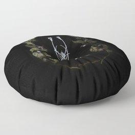 Memento Mori III Floor Pillow