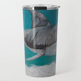 Sky Shark Travel Mug
