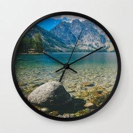 Jenny Lake Wall Clock