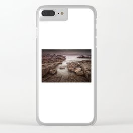 Porthcawl Rest Bay Clear iPhone Case