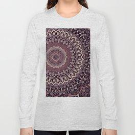 MARSALA MANDALA Long Sleeve T-shirt