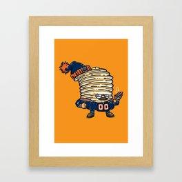 Da Pancakes Framed Art Print