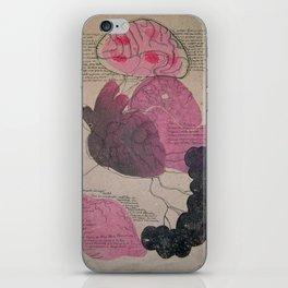 Memoria del desplazamiento iPhone Skin