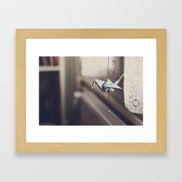 Cranes (4) Framed Art Print