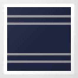 Ravenclaw Stripes Art Print