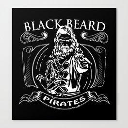 black beard Canvas Print