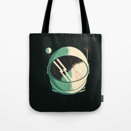 Death of an Astronaut Tote Bag
