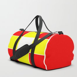 Team Colors 3....yellow ,red Duffle Bag