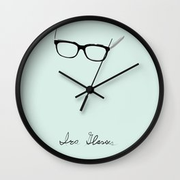 Ira Glasses Wall Clock