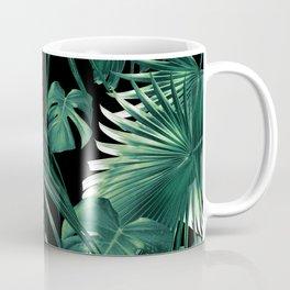 Tropical Jungle Leaves Dream #6 #tropical #decor #art #society6 Coffee Mug