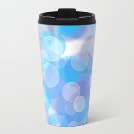 Aqua bubbles Travel Mug