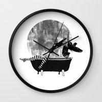 legs Wall Clocks featuring legs by Cardula