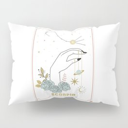 Scorpio Zodiac Series Pillow Sham