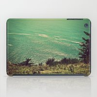 west coast iPad Cases featuring West Coast  by Hannah Kemp