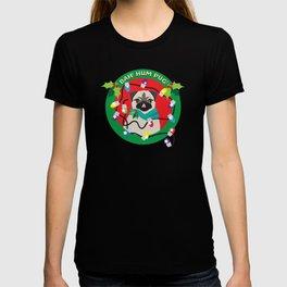 Sassy Boy! Bah Hum Pug Christmas Pug T-shirt