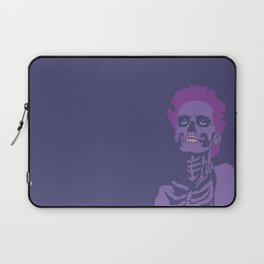 skeleton woman plum Laptop Sleeve