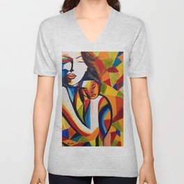 Loving Mom Unisex V-Neck