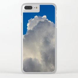 Wild Blue Yonder Clear iPhone Case
