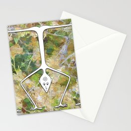 Handstand Stationery Cards