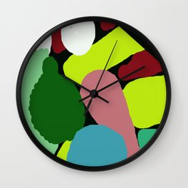 Colors Showing Off Wall Clock