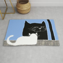 Frisky the Cat Rug