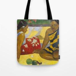Parau Api / What's news? by Paul Gauguin Tote Bag