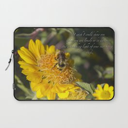 Light of Your Own Being Laptop Sleeve