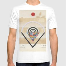 Prism Mens Fitted Tee White MEDIUM