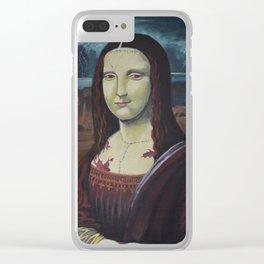 Franken Lisa Clear iPhone Case