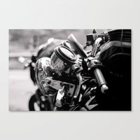 moto Canvas Prints featuring moto by Farkas B. Szabina