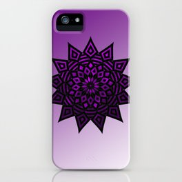 Purple Star | Tam Tam | Mandhala iPhone Case
