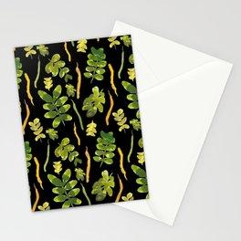 Siberian pea tree in Noosa pattren design Stationery Cards