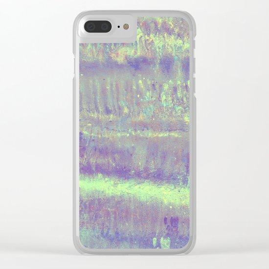 Mermaid metallic Clear iPhone Case