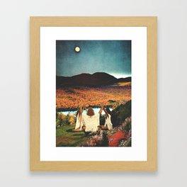 A landscape Framed Art Print