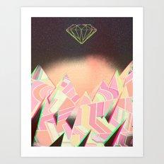 Diamond Sky Art Print