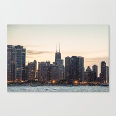 Chicago highrises Canvas Print
