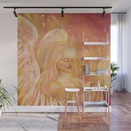 Angel of light, beautiful angel Wall Mural