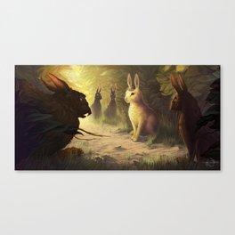 Bigwig Joins Efrafa Canvas Print