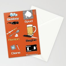 Trainspotting vector Stationery Cards