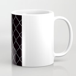 Black Chainlink Coffee Mug