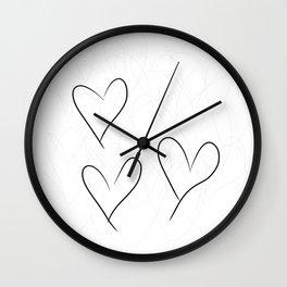 from the Heart - von Herzen Wall Clock