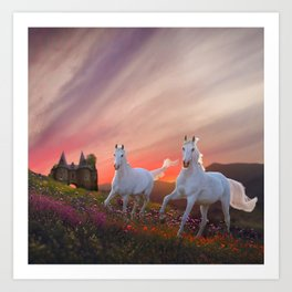 A Scottish Fantasy Art Print