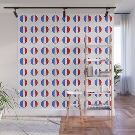 Flag of France 15- France, Français,française, French,romantic,love,gastronomy Wall Mural