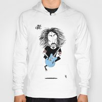 dave grohl Hoodies featuring Dave Grohl  by L O L A S O Y