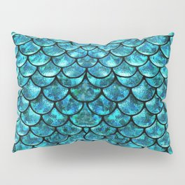 Mermaid Scales Design Pillow Sham