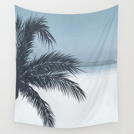 Palm and Ocean Wall Tapestry