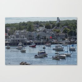 Small Harbor Canvas Print