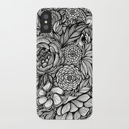 Peony Fascination iPhone Case